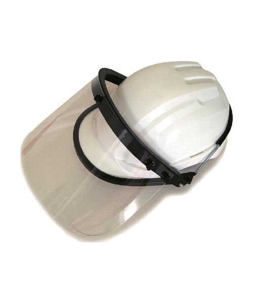 彈簧式工程帽專用透明面罩組
